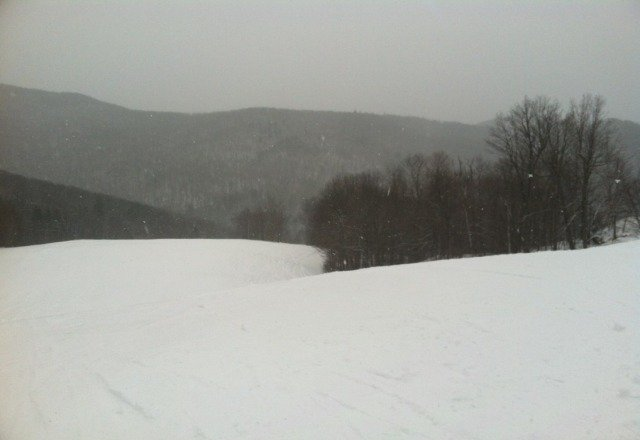lots of fresh powder!