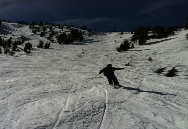 first time chuter great spring conditions pow search coming soon