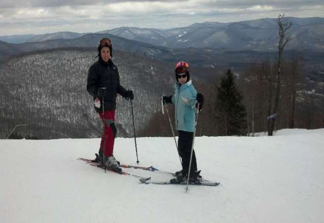 Friday's spring skiing was excellent, great conditions and all slopes open! No lift lines as always!