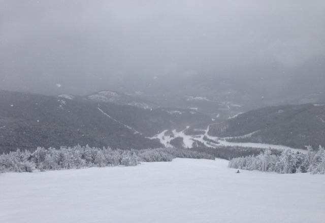 Excellent snow conditions at Whiteface!
