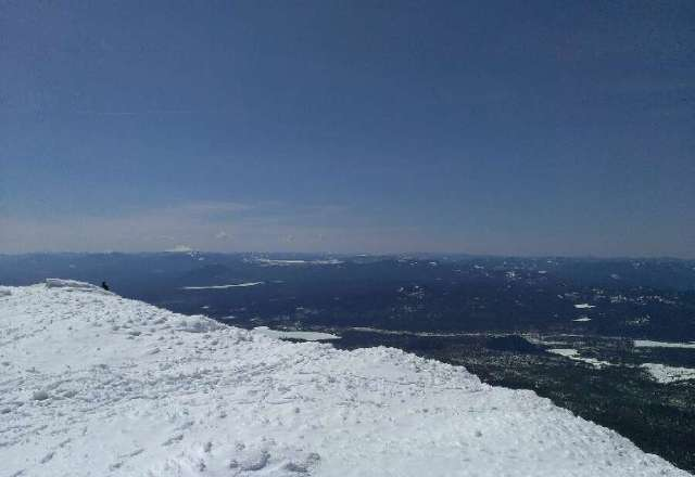 Saturday was a beaut! pic from the summit.