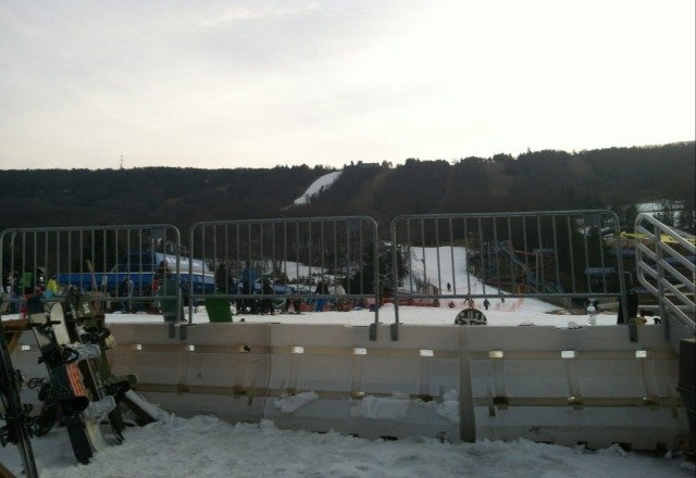 not bad. only the terrain park is open until 9pm. the regular trails closed at 4pm