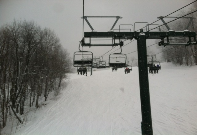 snowed all day!!! awesome conditions!