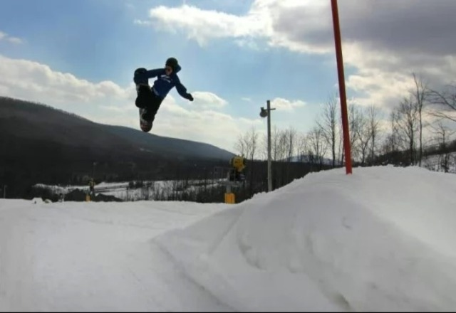 The park is sick. It's still up and running 100% with plenty of snow