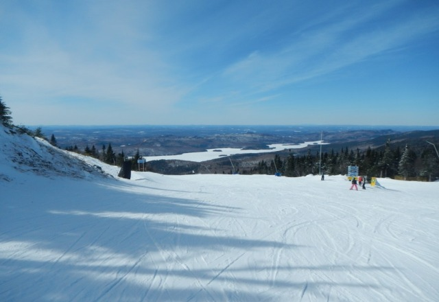 beauty day!!!! no lines and 80+runs open, fresh pow on its way.