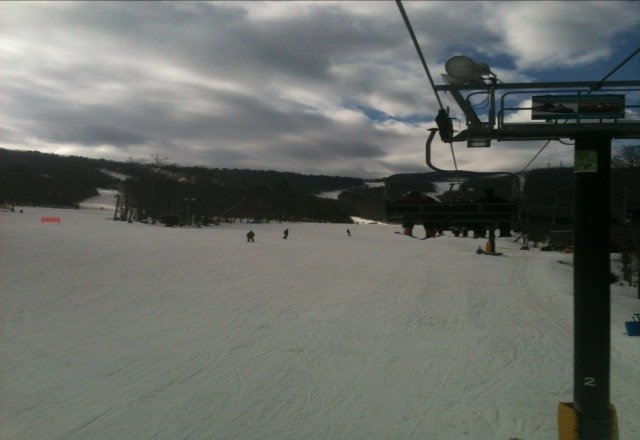 great day of skiing at massanutten