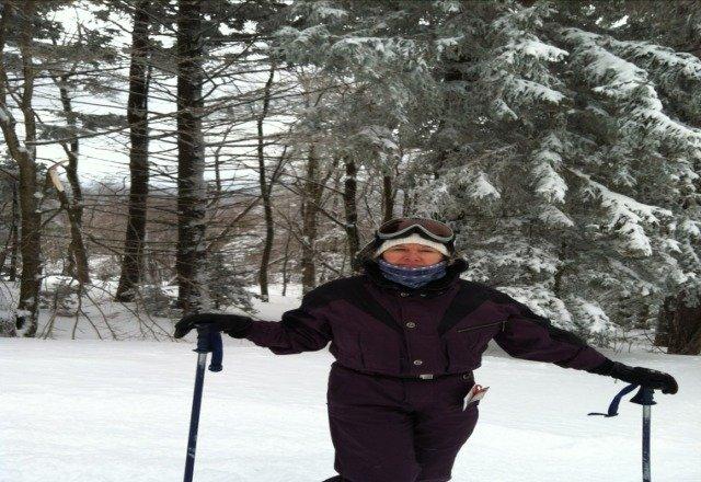 fantastic day. powder powder ski bromley