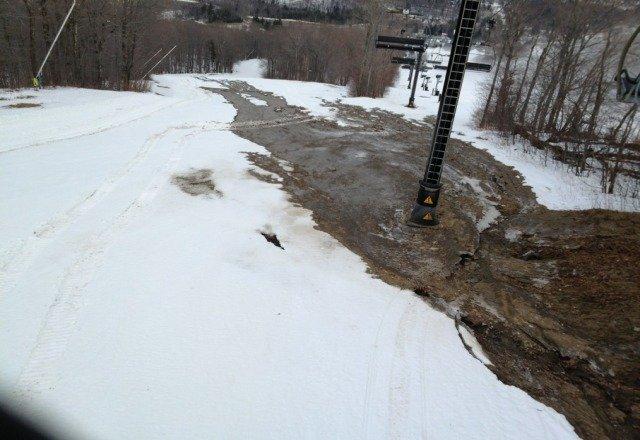 Water Main Break on the Mountain 01/15....