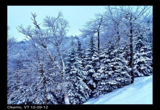 beautiful on saturday snowed all day
