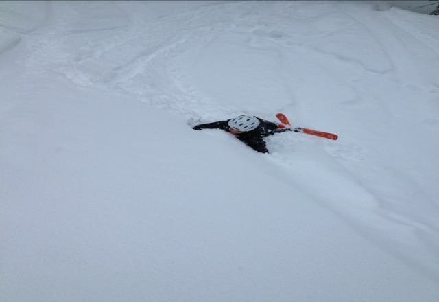 Rated R was crazy fun on Thursday.  Skiing with my Dad.
