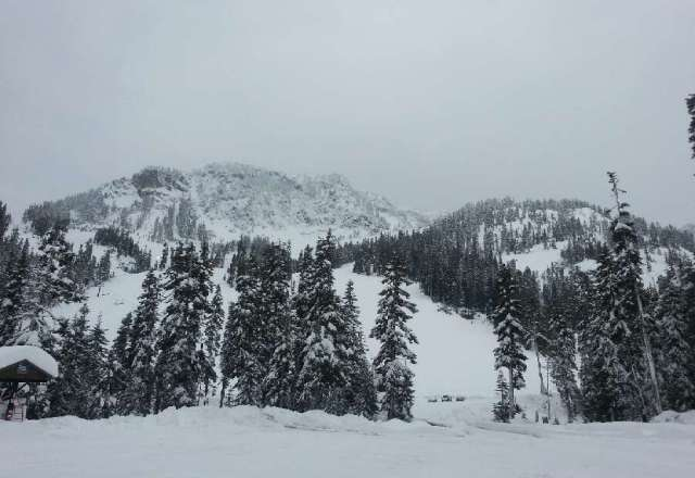 Great day of powder riding yesterday at Alpental