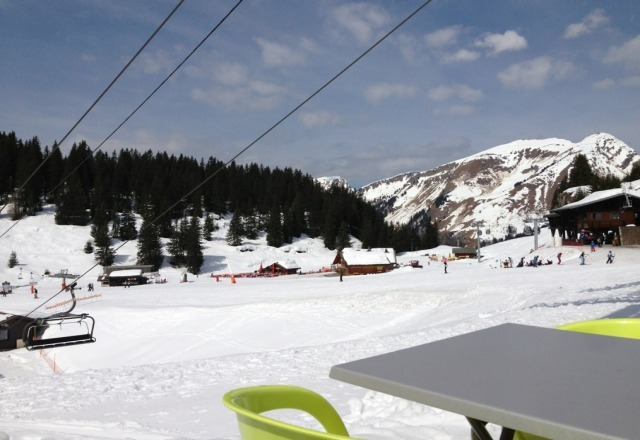 awesome day yesterday sun snow