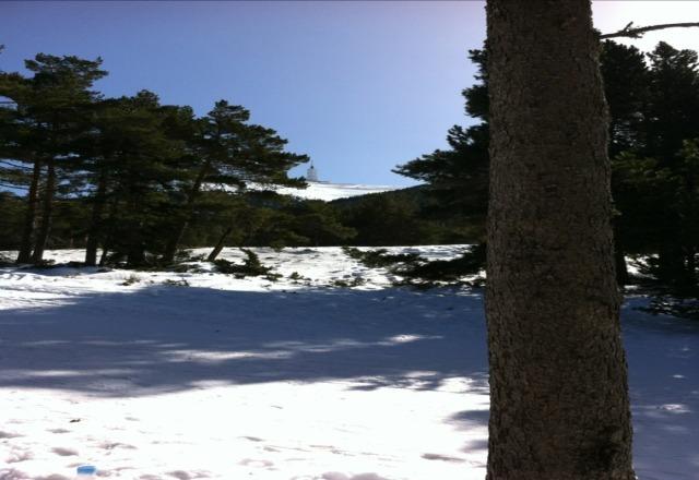 Soleil, neige, belle apres-midi en perspective.