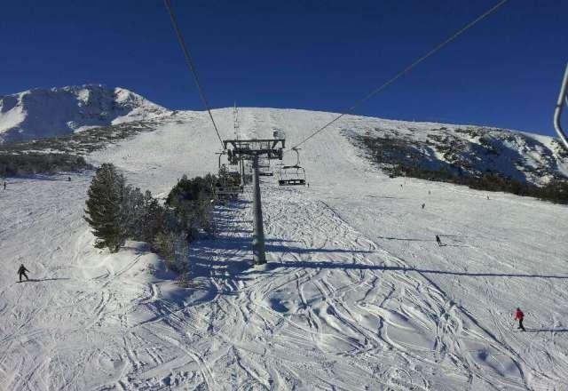 Ski slope 'Plato'