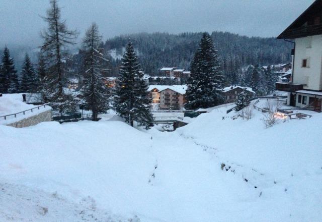 san martino 24 h di nevicata continua