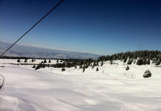 superbe neige !