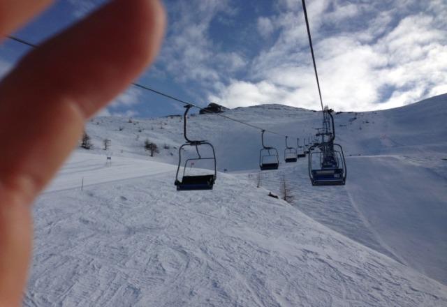 belle piste e neve