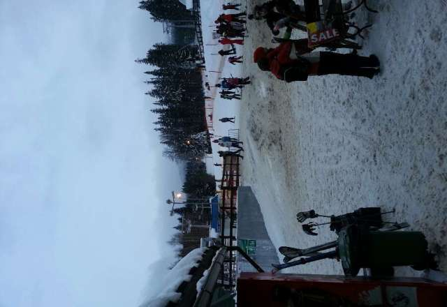 all lifts and runs are open apart from the black run