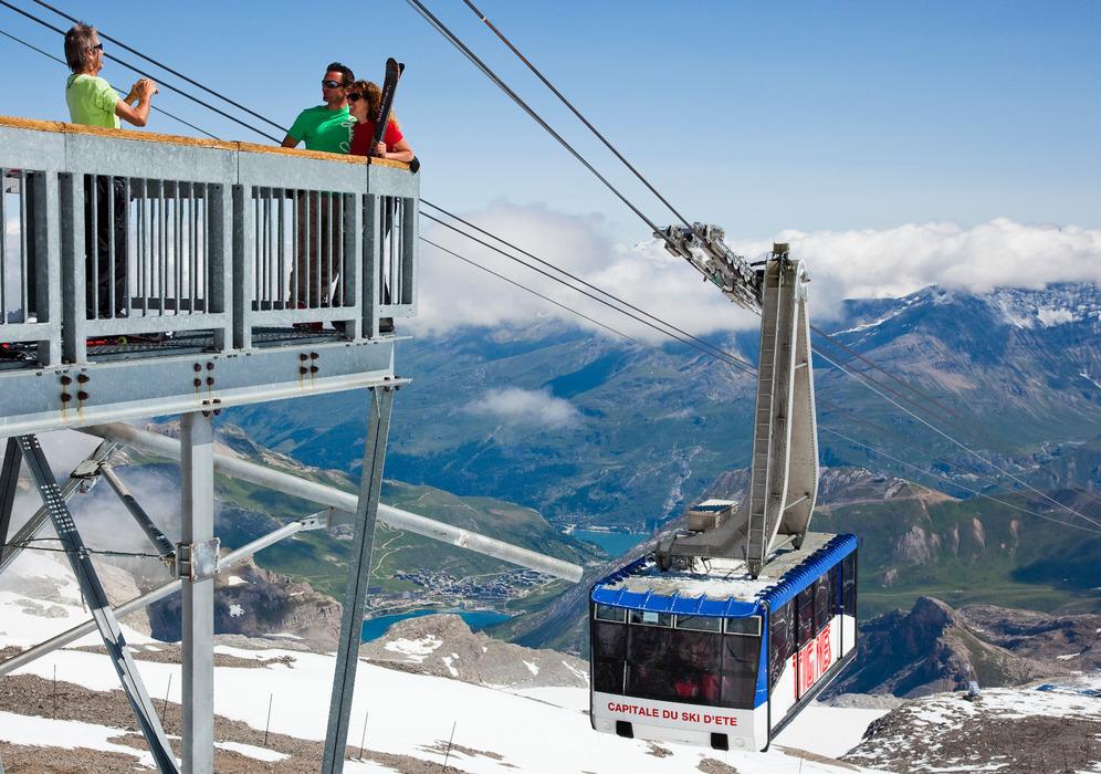 Tignes, capitale du ski d'été - © Tristan Shu