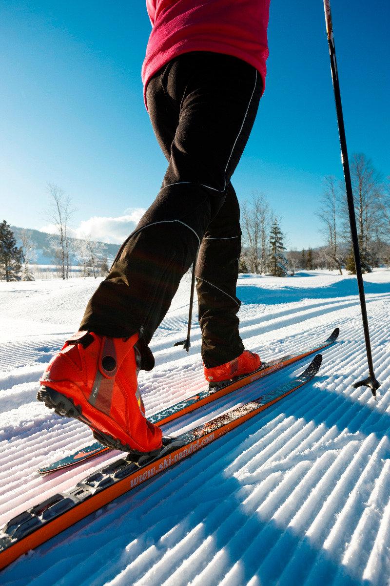 Ski de fond aux Rousses - © Station des Rousses / S. Godin