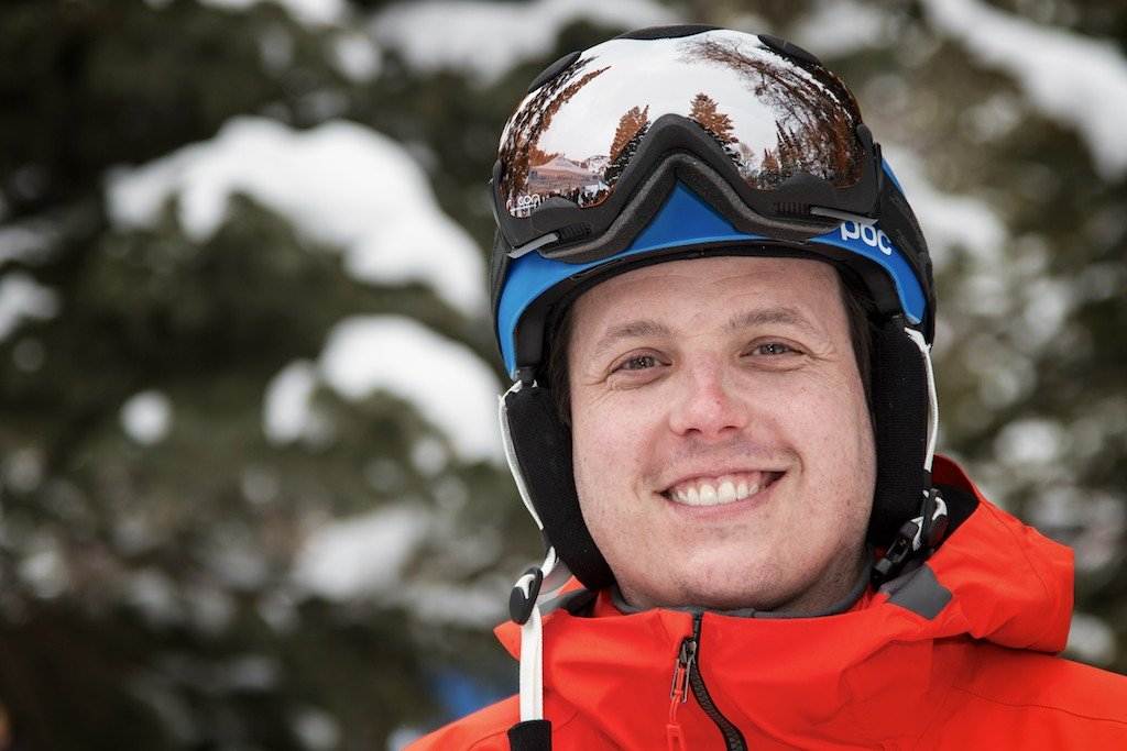 Dan Kasper: OnTheSnow Senior Managing Editor and longtime big mountain ripper - © Liam Doran