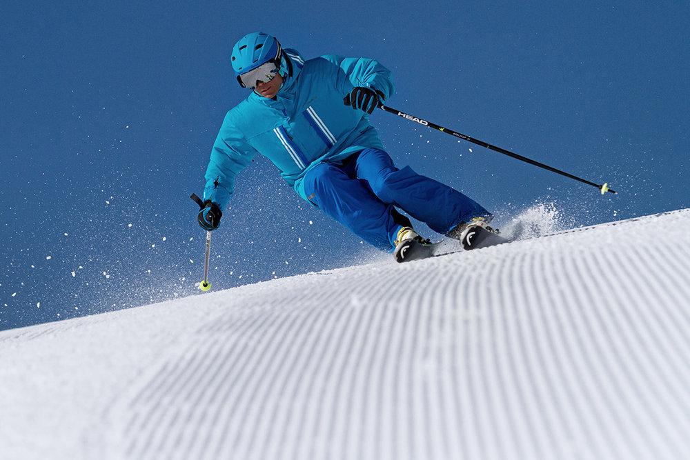 Précision, performance et plaisir, voilà les qualités recherchées d'un bon ski de piste - © Head