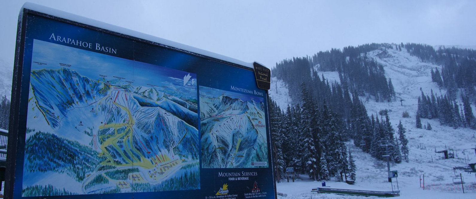 Snow in September! - © Arapahoe Basin Ski Area