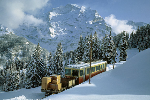 Wengen Railway, Switzerland - © Wengen