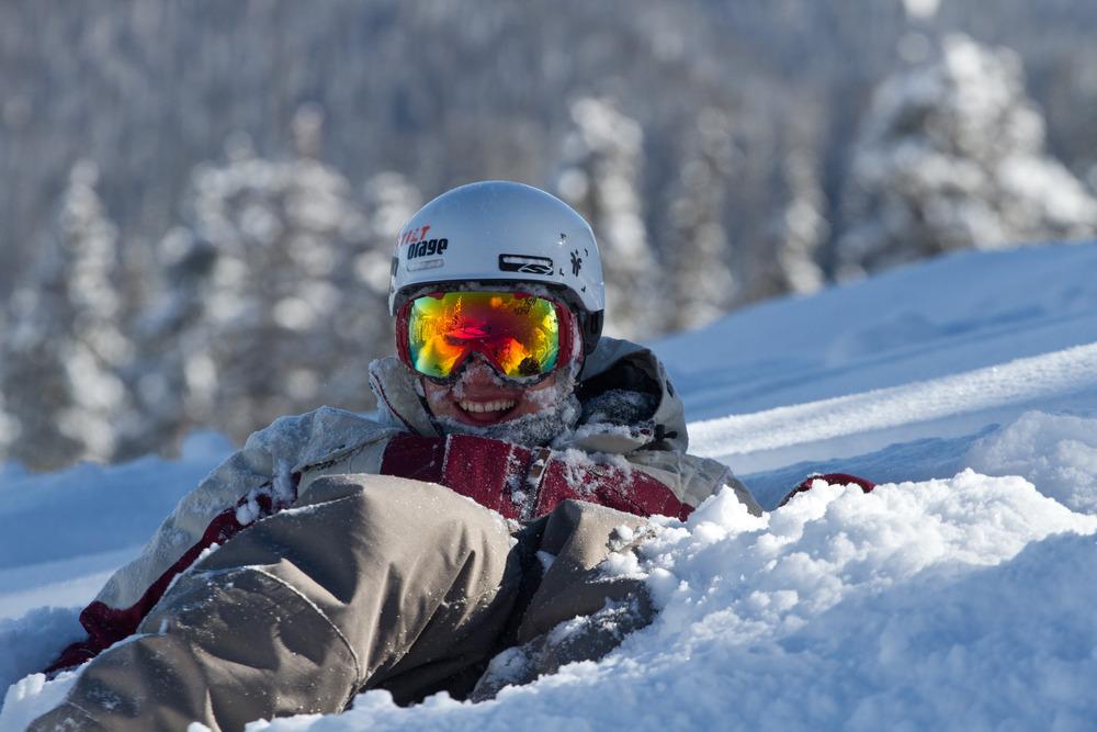 Powder skiing is fun.  Thank you Wolf Creek! Photo by Liam Doran