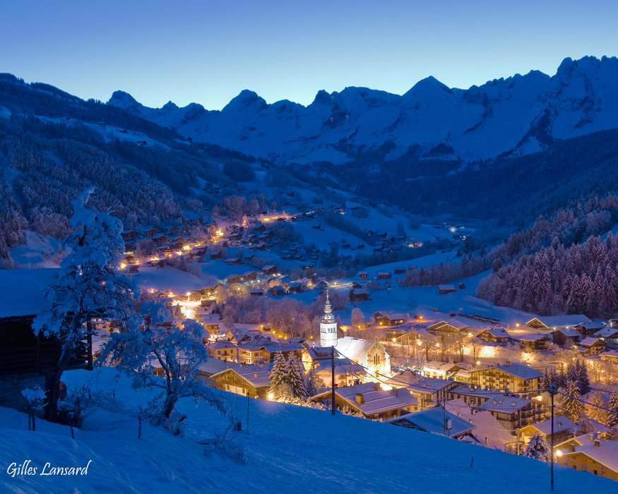 Le Grand Bornand, France, part of the Lake Annecy Ski Resorts ski region - © Gilles Lansard