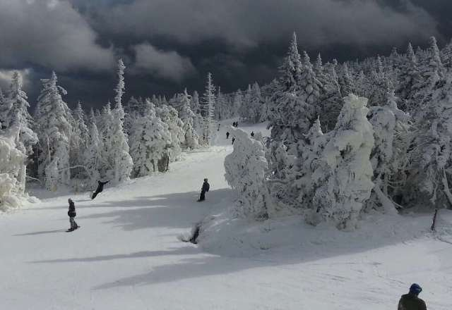 Great day at Killington snowed on and off till 1p.m. Conditions were great. coming back again tomorrow