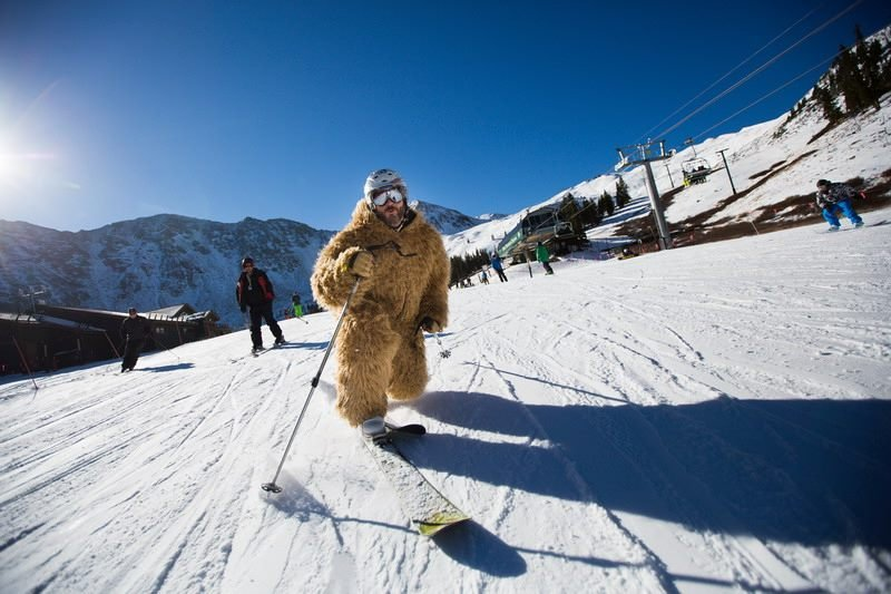 Beastly tele turns at A-Basin - © Dave Camara/Arapahoe Basin Ski Area