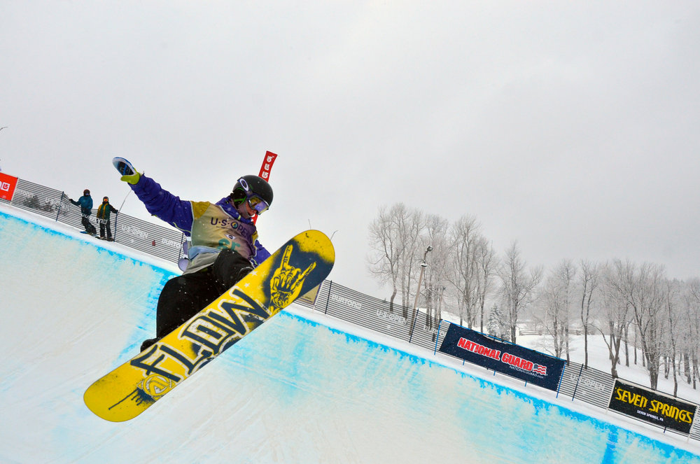 Home of the 13 and 14 Burton US Open Qualifiers und US Revolution Tour - ©Seven Springs