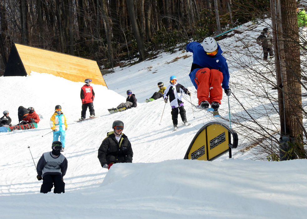 The Alley Terrain Park - © Seven Springs