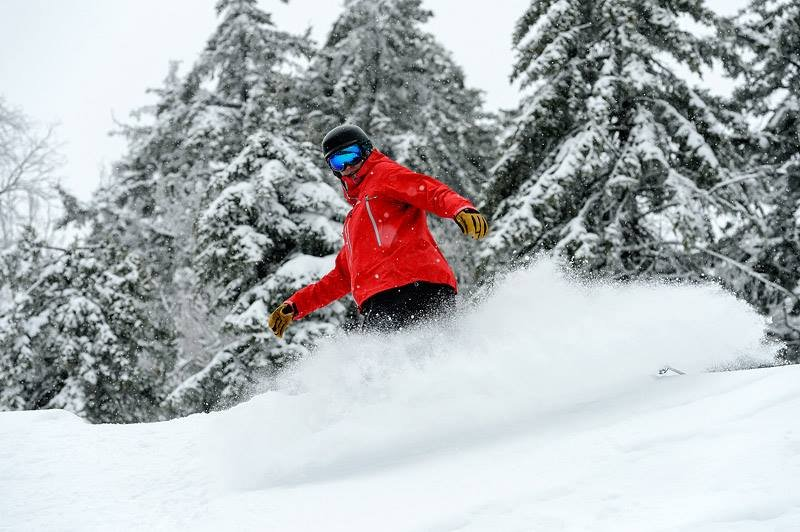 Enjoy a side of fresh snow this Thanksgiving at Snowshoe. - © Snowshoe Mountain
