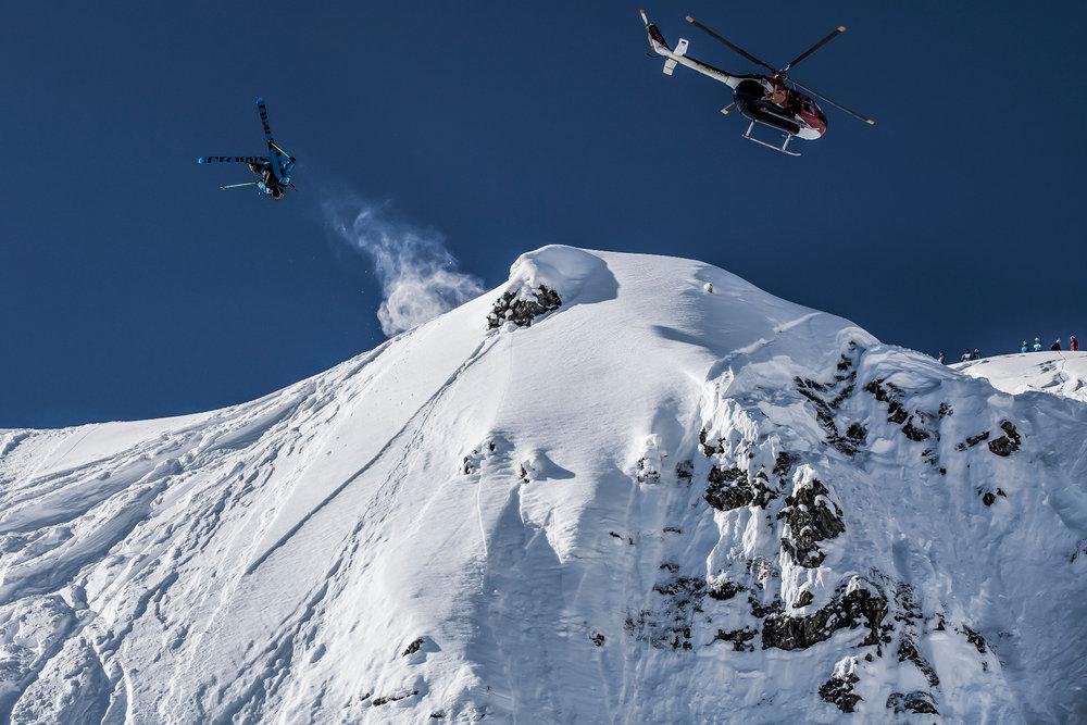 Helicopter Jump in Hochfügen - © Julia Kronthaler