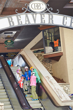 Beaver Creek's famed escalators. - © Jack_Affleck