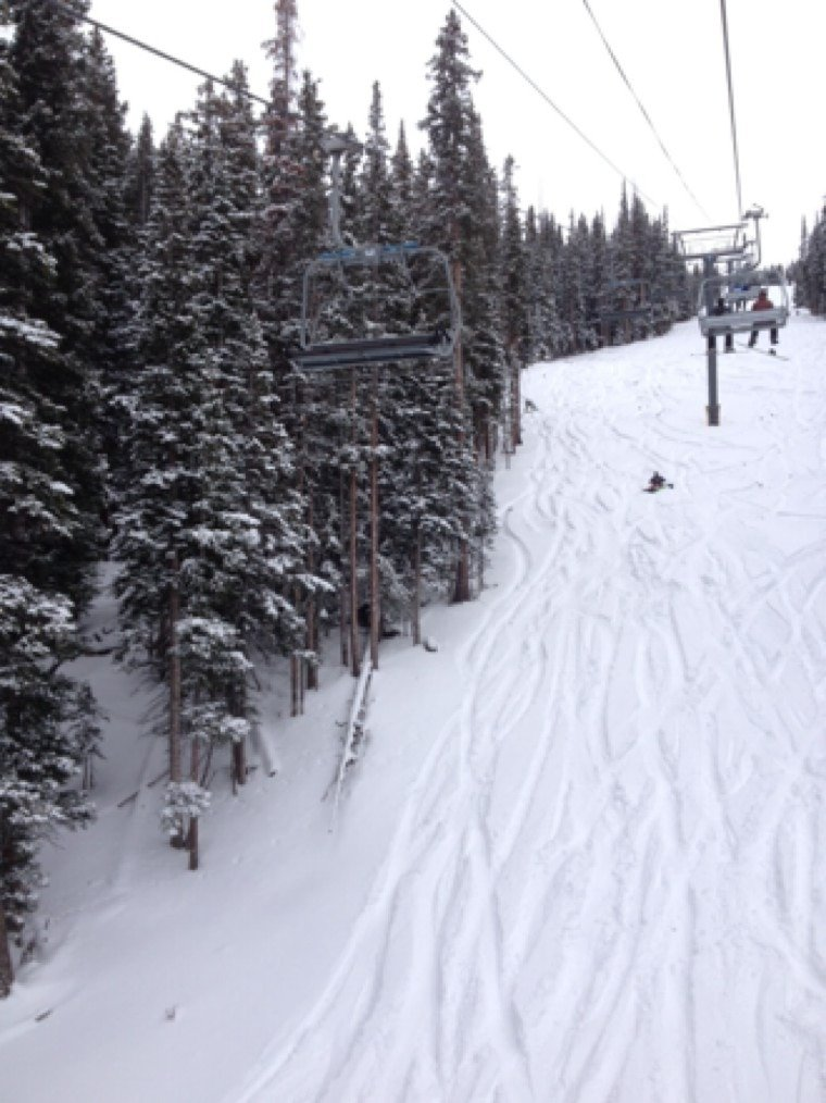 Yesterday was so awesome! Can't wait to go in a couple days again. Finally getting some real snow
