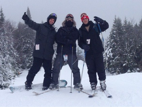 My boyiis skiing the notch, a few more open trails would have been nicer. All in all a great weekend