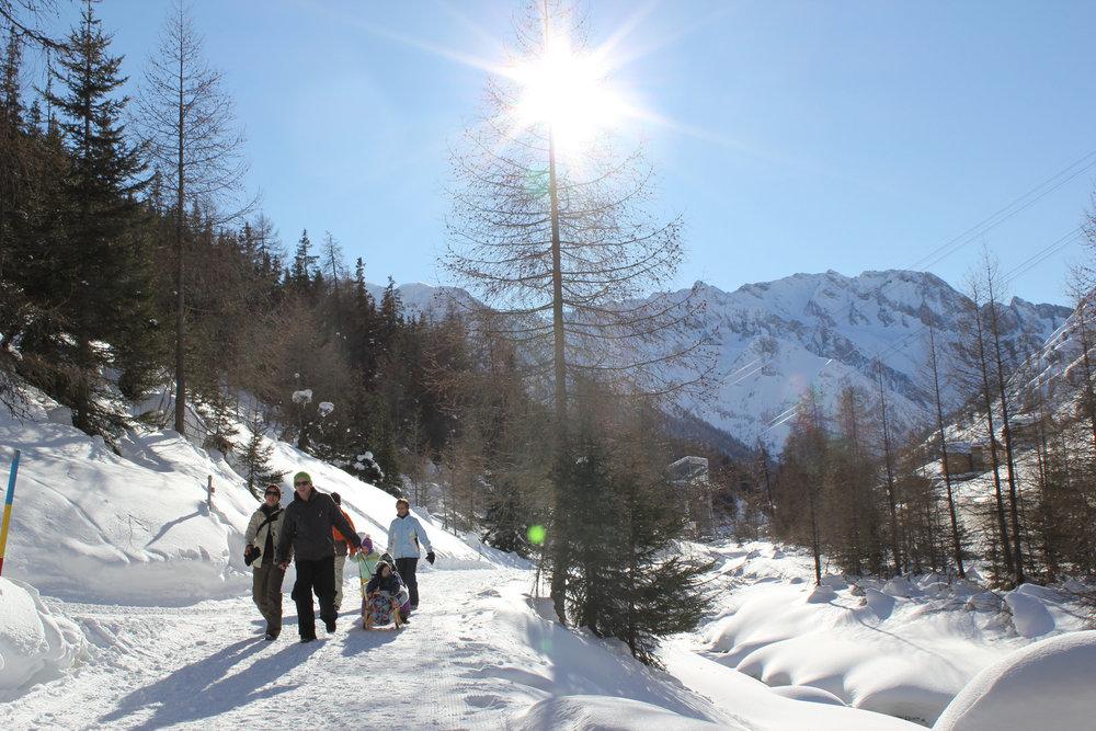 Winterwandern in Samnaun - © Engadin Samnaun