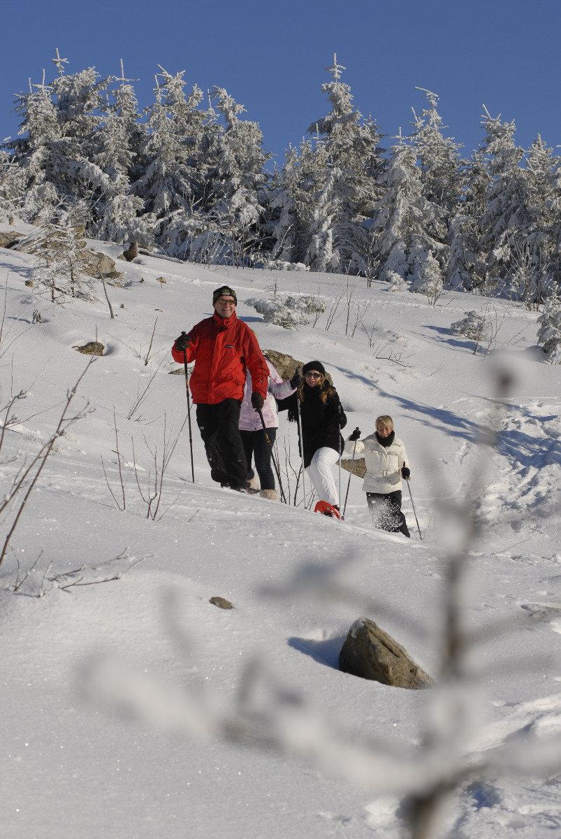 Schneeschuhwandern Ochsenkopf - © Erlebnis Ochsenkopf