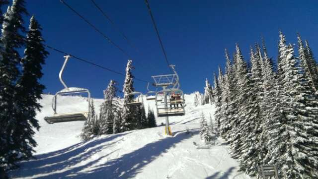 it was awsome.... u can cut fresh tracks all over the mountain we will be coming back this season and I'm from Calgary