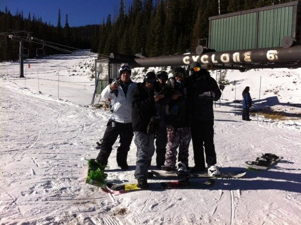 Doing it real big on cyclone!!! With the goons