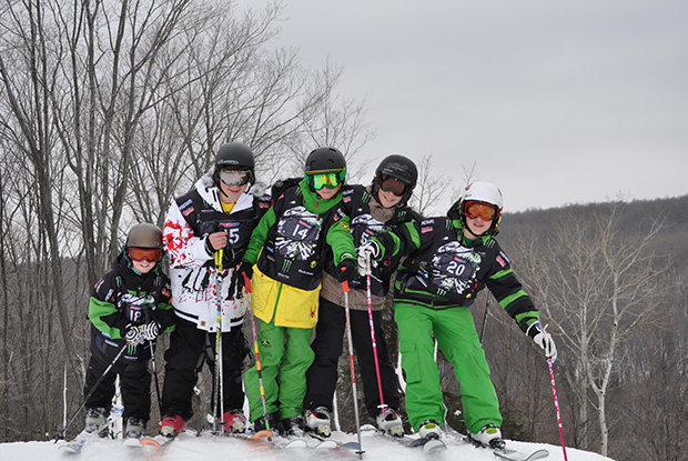 Marquette Mountain kids - ©Michigan Snowsports Industries Association