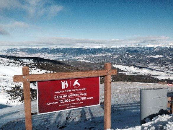 The new peak 6 terrain is the best blue black runs in Colorado. Lots of new wind blown powder each run.