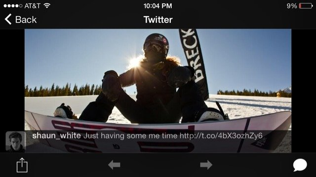 Yea, looks like Shaun white really is in Breck