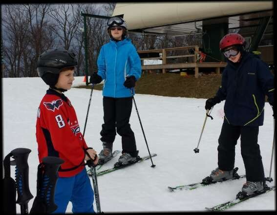really nice job by the whitetail crew covering the runs with snow and handling the crowds.  fun day at the 'tail.
