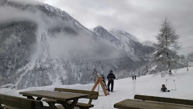 2 Mt di neve meravigliosa, ancora alcune piste chiuse ma per il resto uno spettacolo!
