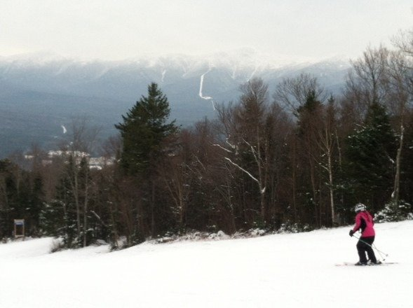 Nice day at Bretton Woods (12/29)!!! Groomers did a nice job and temps in the low 30s made for an enjoyable experience!