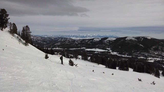 Up from Colorado and had a great day at Bridger!  No ave beacon, but found great stashes off alpine :)